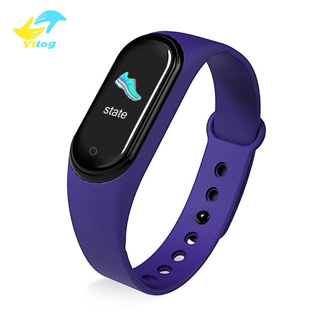 Vitog M5 Smartband Sport Fitness Tracker Call Watch Smart Bracelet Blood Pressure Heart Rate Monitor Smart watch Wristband Men Women