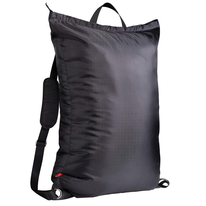 Grande sacchetto della lavanderia 24 pollici pollici X34 con la chiusura lampo, Collegio lavanderia Zaino con 2 spallacci regolabili forti per College St