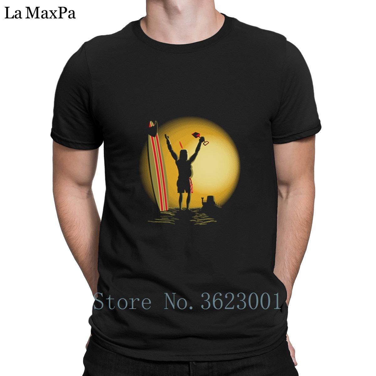 Erkekler Yüksek Kaliteli Yaz İçin Baskılı İnce Tişörtü Sonsuz Sunbro Erkek Tee Gömlek Casual% 100 Pamuk Erkekler Tişörtlü İlginç Tişört