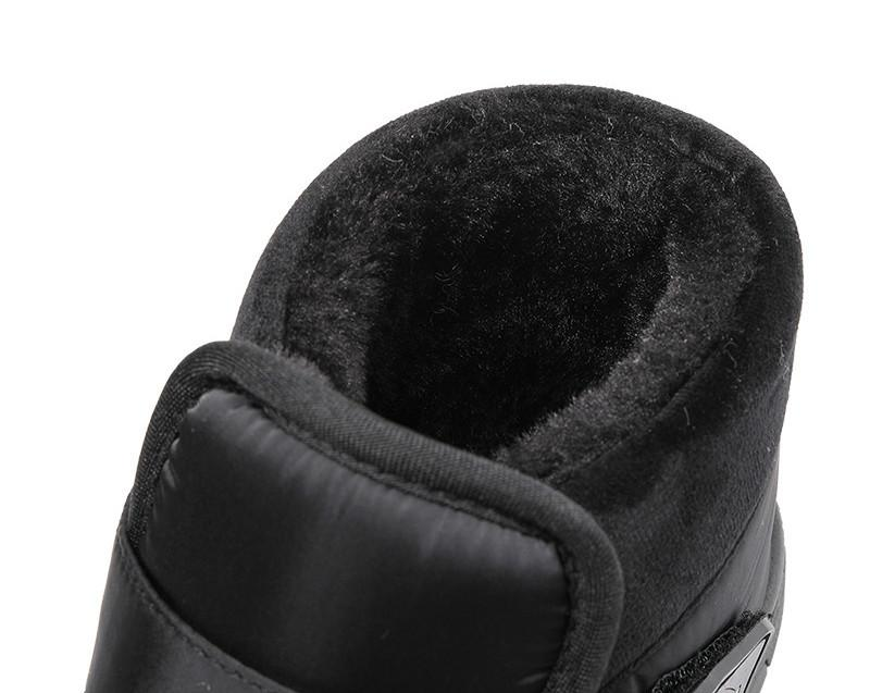 Outdoor Womens Boots Breathable Slip On Winter Velvet High Top Couple Snow Boots Mens Thick Outdoor Warm Cotton Shoes