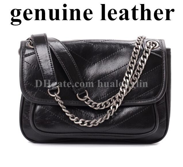 Cuir véritable de haute qualité femme messenger sac sac sac à main sac à sacs à main livraison gratuite livraison de gros rabais