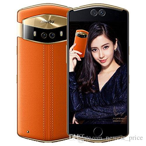 "Unlocked Original Meitu V6 6GB RAM 128GB ROM 4G LTE Mobile Phone MT6799 Deca Core Android 5.5"" 12.0MP Selfie Beauty Face ID Smart Cell Phone"