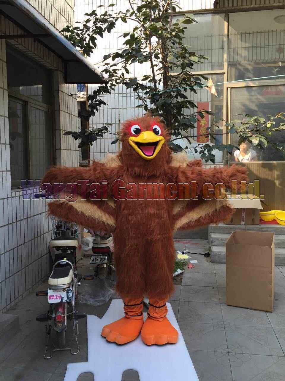 Hochwertiger Türkei-Maskottchen-Kostüm Karneval Zweig Parade Qualität Clowns Halloween-Party-Aktivität Fancy-Ausstattung Verschiffen frei