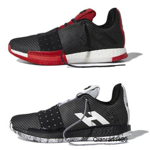New James Harden Vol. 3 baskets concepteur formateurs Harden 3 Chaussures de basket-ball d'or / Championnat MVP Finales de course Taille Chaussures 7-12