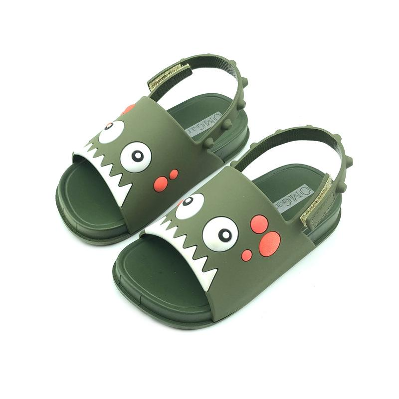 2020 neue Kinder-Baby-Sommer-Schuhe Kinder Sandalen für Baby-Prinzessin Schuhe Sandalen Anti-Rutsch-nette Karikatur-Gelee Schuhe 1-4Y