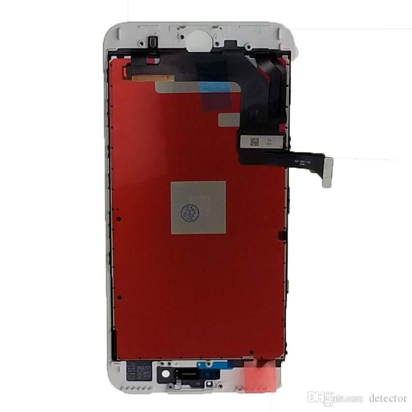Grade A+++ For iPhone 8 LCD Display White & Black LCD Display Touch Digitizer Frame Assembly Repair For iPhone 8 & Free DHL Shipping2019