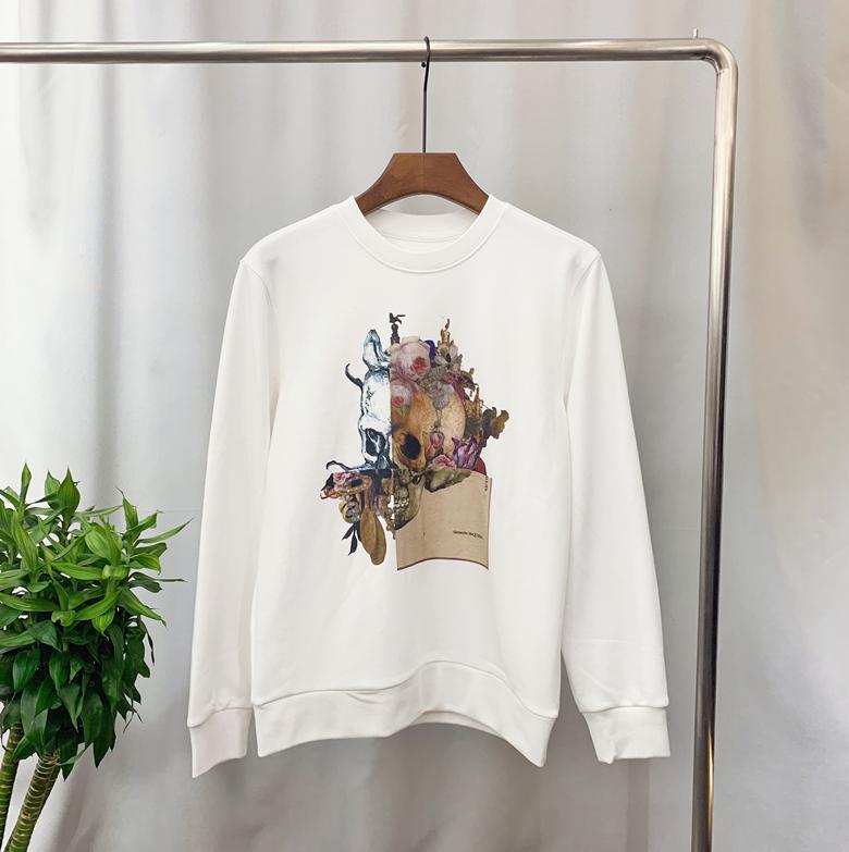 2020 nuovo modo caldo di vendita del progettista del Mens Hoodies di Hip Hop Uomo Felpa con cappuccio dal design di lusso Pullover Streetwear Teschi formato S-3XL