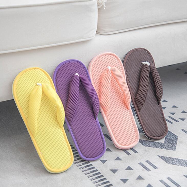 Конфеты цвета сэндвич пара лето для ванной сандалии и тапочки толщины износостойкая, не поскользнуться мягкой нижней домашние тапочки сандалии и туфля