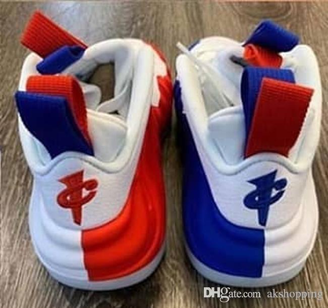2019 Горячие Аутентичные AIR ONES FOAMPOSITEES США Мужчины Женщины Баскетбол Обувь Спортивные Открытый Кроссовки Настоящее Углеродного Волокна С Размер коробки 36-46