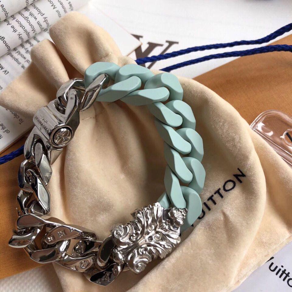 2020 nuovo disegno in acciaio inox fibbia bracciali per uomo donna bracciale a catena designer regalo del braccialetto gioielli con scatola R011A