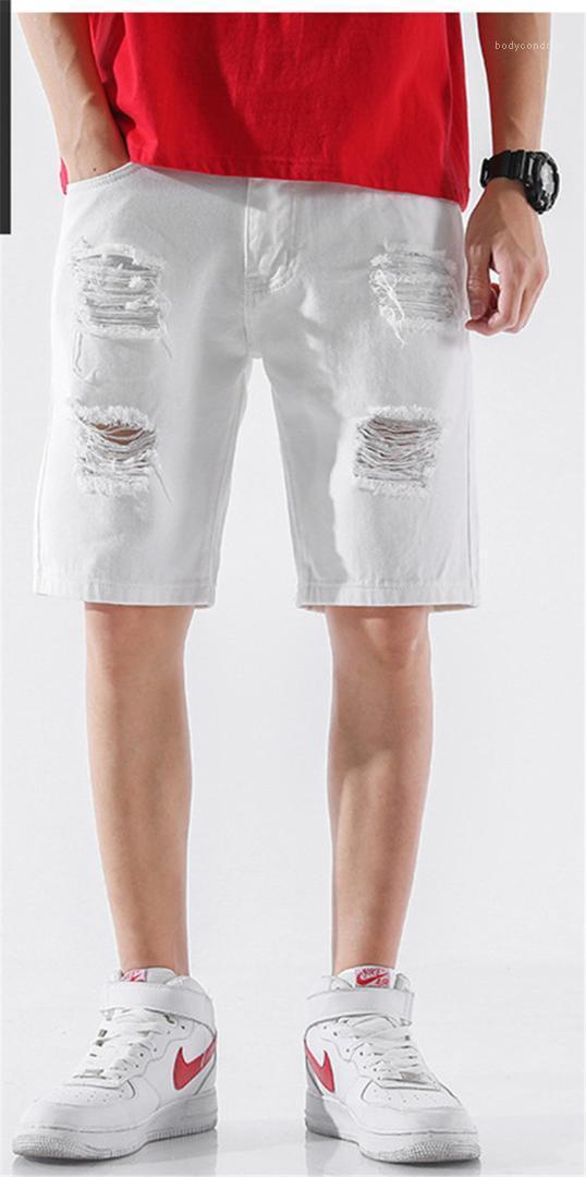 Casual Pole Mens kurze Hosen Art und Weise natürliche Farben Hosen Herrenmode Herren Designer knielangen Hosen