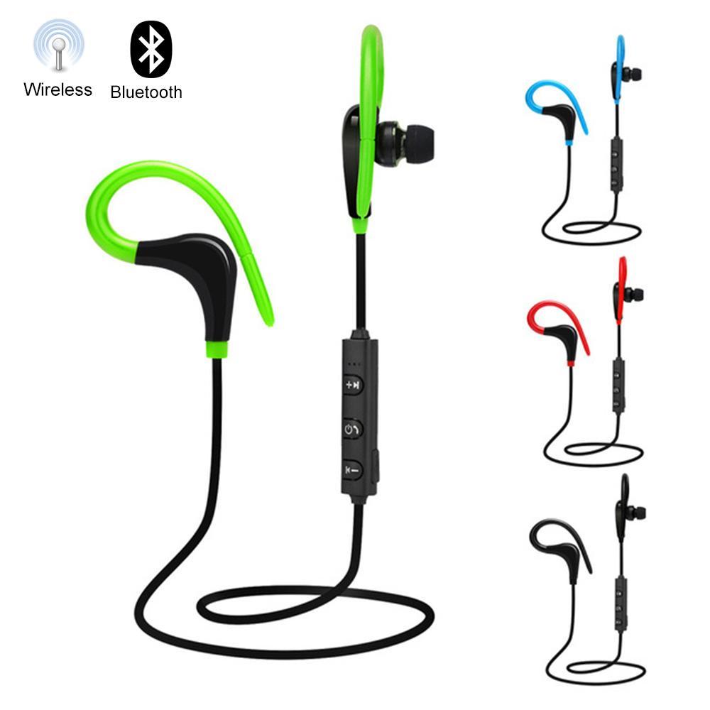 Auricular inalámbrico Bluetooth Auricular inalámbrico con micrófono Correr Deportes Auriculares con banda para el cuello portátiles para ios Andriod Teléfono móvil