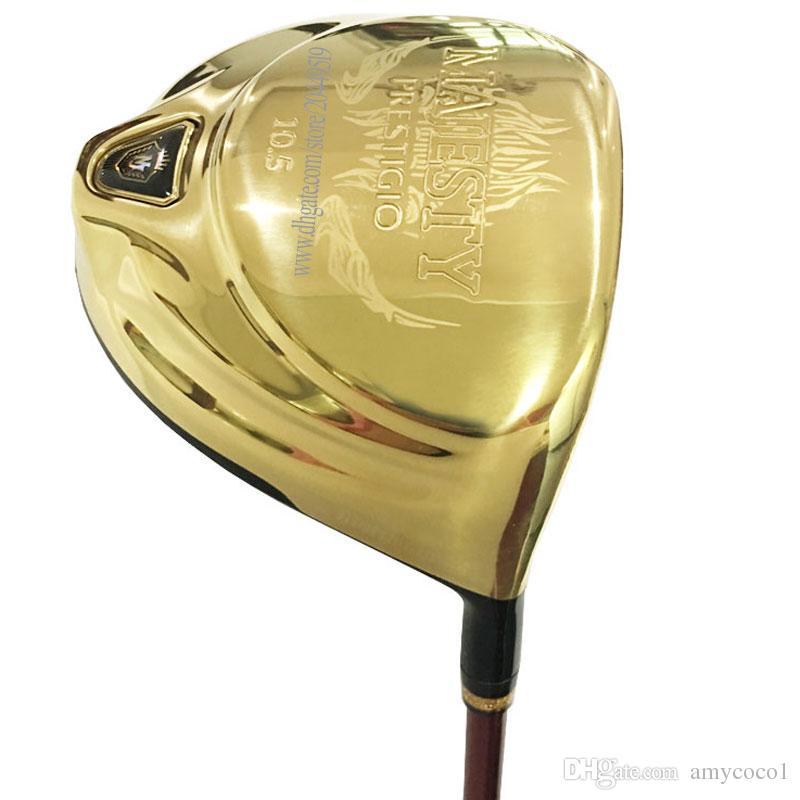 Nuovi club di golf MAJUSTY MAJESTY PRESTIGIO 9 Driver 9.5 o 10.5Loft Katana Golf Driver Golf Driver Grafite Shaft STACK SHOPCOVER GRATUITA