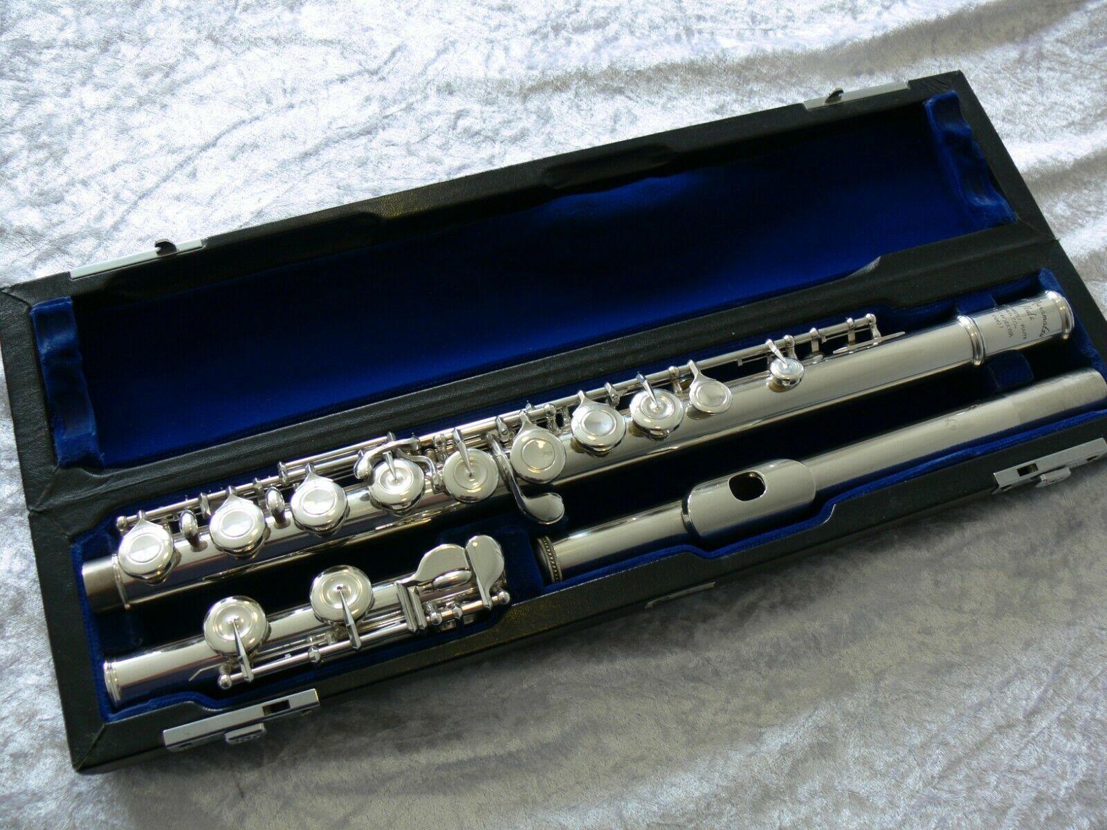 MURAMATSU Fluten EX Modell Klassische Aufführung Musikinstrument Kupfer-Nickel-Silber überzogene Flöte mit Fall