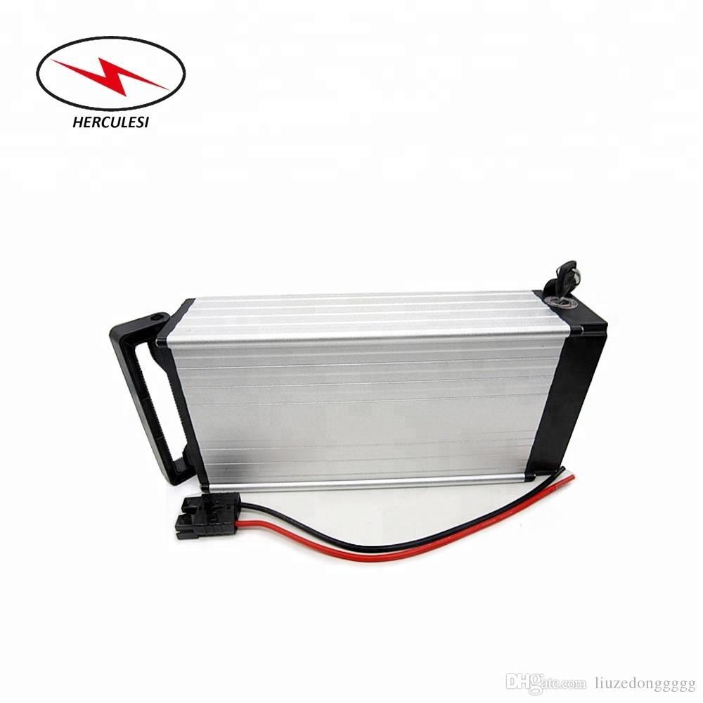 Wiederaufladbare Li-Ionen-Akku 18650 3.7v 2200mAh 48V 20Ah Gepäckträger elektrische Fahrrad-Batterie