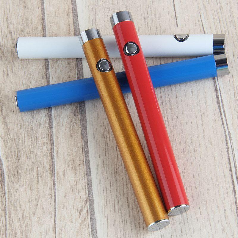 CE3 O-pen BUD Button Manual Battery Pen 280mAh Vapor pen 510 e Cigarettes for Wax Oil Cartridge Vaporizer Heavy Smoke ON/OFF