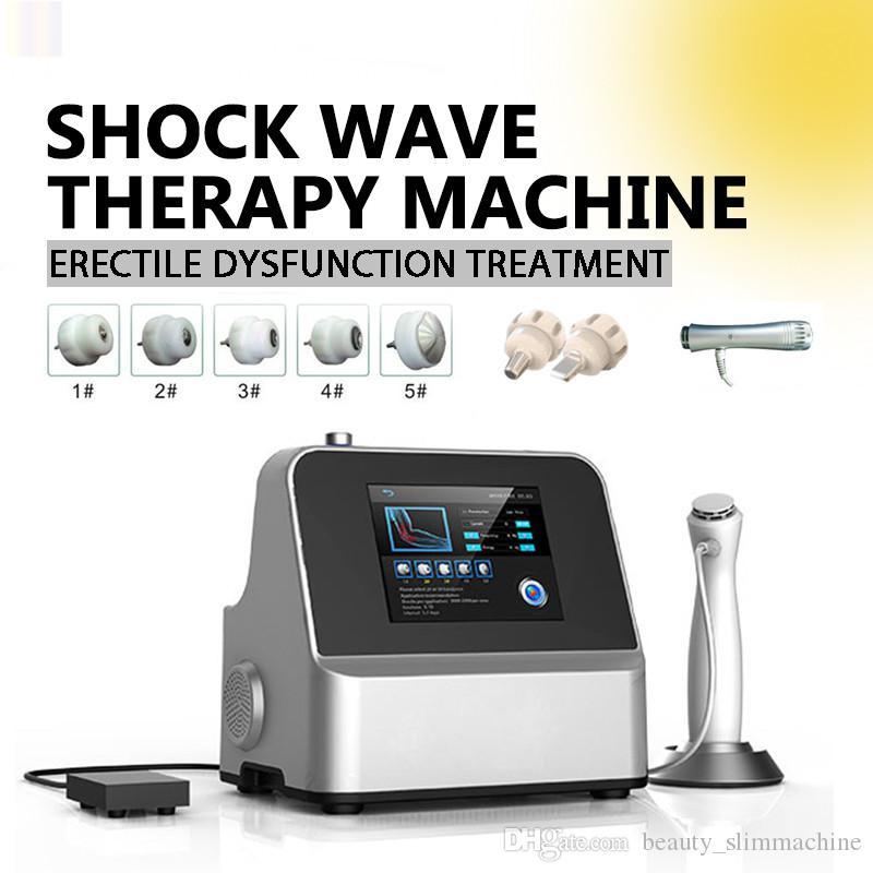 고품질 ! 휴대용 효과적인 물리 통증 치료 시스템 Acoustic Shock Wave Pain Relief Reliever 용 체외 충격파 기계