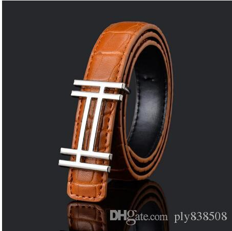 1psc luxo designer Qualidade PU Criança Belt Moda Lazer alta Designer Crianças Belt Boys / Girls Buckle Calças Cintos cinto