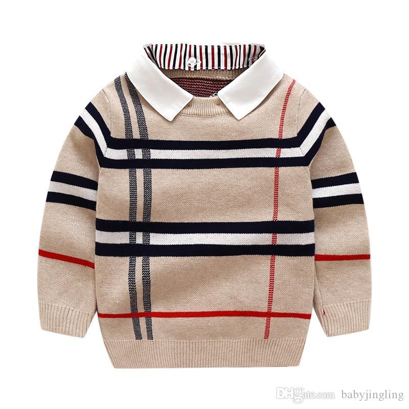 بنين Sweatershirt الخريف الشتاء العلامة التجارية سترة معطف سترة ل توكيد الطفل بوي سترة 2 3 4 5 6 7 سنوات الفتيان الملابس