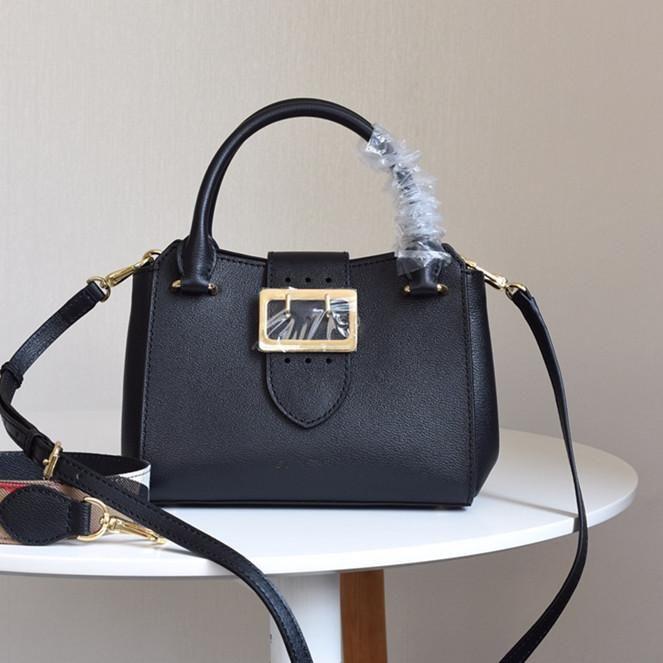 top quality ;uxury bags the buckle tote bag the banner fashion handbags calfskin shoulder crossbody bag