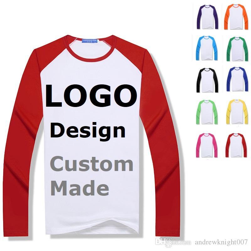 Customized Men Hoodies Sweatshirts Personalized LOGO Printed Design DIY Men Women Custom made Long Sleeve T shirts Jackets Coats Tops