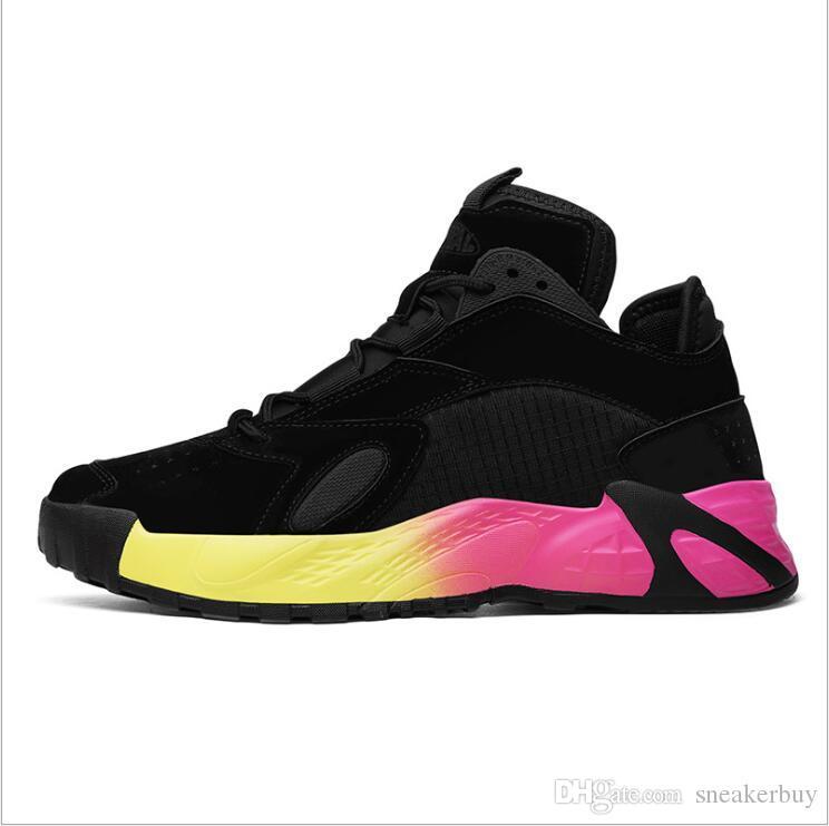 Explosion des modèles Triple S Chaussures homme Maladroit SneakeThick-coréenne Respirant sport à semelles de sport étudiant mode chaussures de course