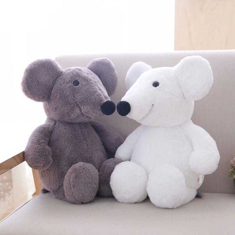 Peluche Big Ear Souris Toy Doll Stuffed Animal Rat Souris Bébé Enfants Enfants anniversaire cadeaux Home Décor