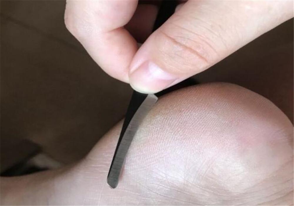 Cuidado de la herramienta de pedicura uñas de manicura de la cutícula y estética más limpia muertas de la piel Planer pie de la belleza