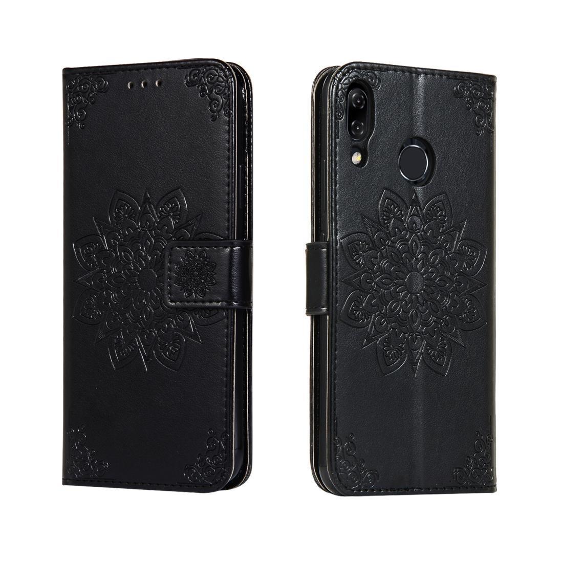 For ASUS Zenfone 5 ZE620KL Embossed Kaleidoscope Flower Horizontal Flip Leather Case with Holder & Card Slots & Wallet