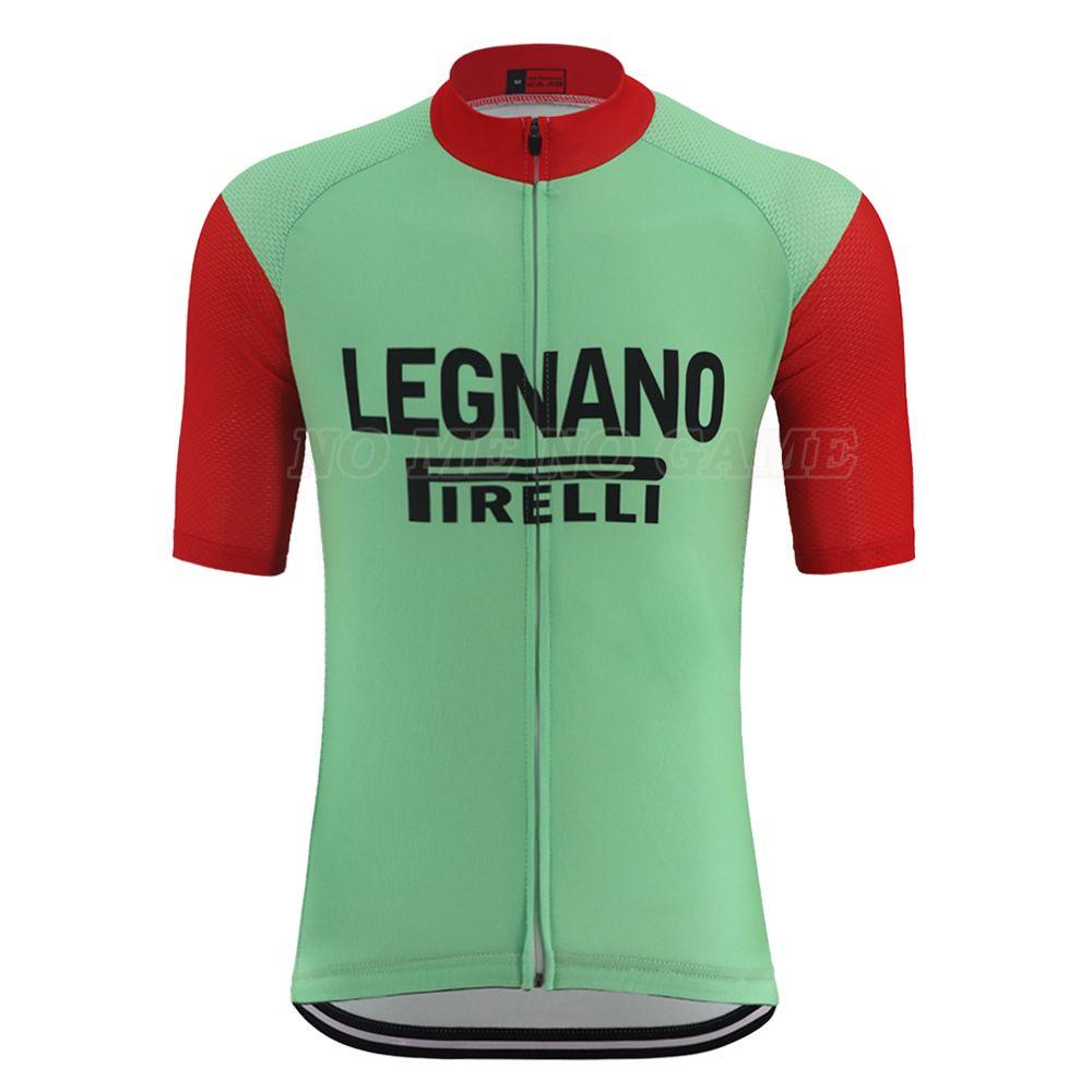 클래식 복고풍 자전거 저지 프로 팀 녹색, 빨간색 자전거 셔츠 남성 짧은 소매 MTB 도로 자전거 마모 의류 빠른 드라이 안티 땀 100 % 폴리 에스테르