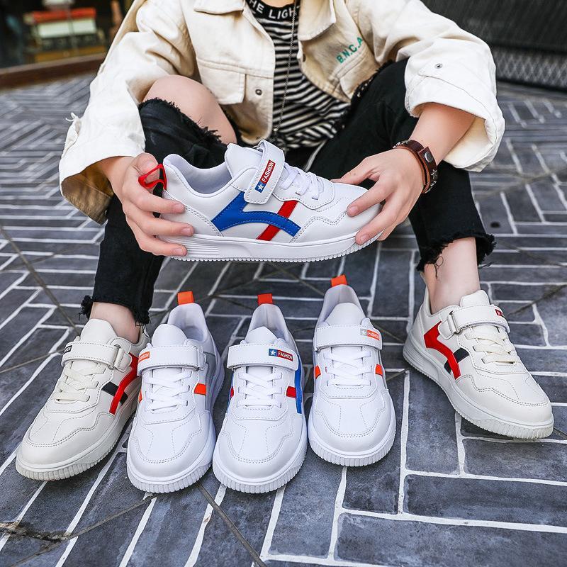 Erkekler Beyaz Düşük En Ayakkabı Moda Kore Stili Yeni Çocuk Spor Big Çocuk 2020 Kız Erkek Moda Ayakkabılar