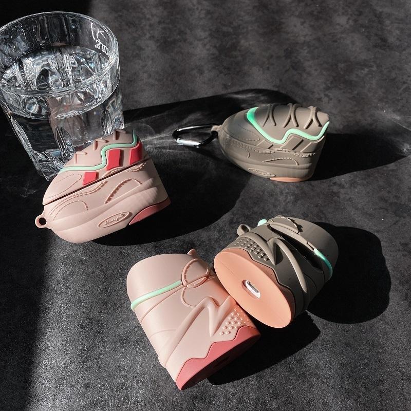3D سيليكون الحذاء نموذج تغطية لAirpods برو 1/2 حالة الأزياء دفعة أحذية الحال بالنسبة لAirpods برو 1/2 الغلاف