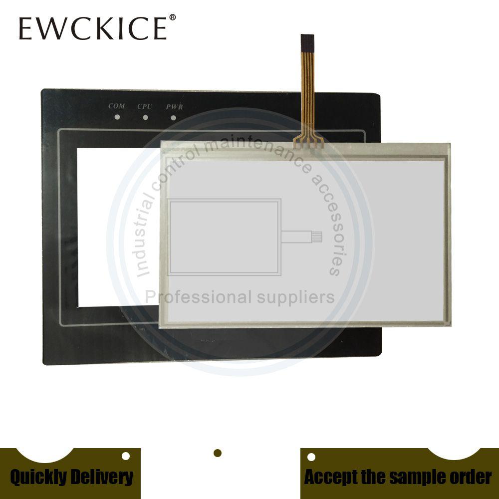 Original NEW MT6050i MT6050iV2WV MT6050iV2EV MT6050iV3EV PLC HMI Industrie-TouchScreen und Frontetikett Film