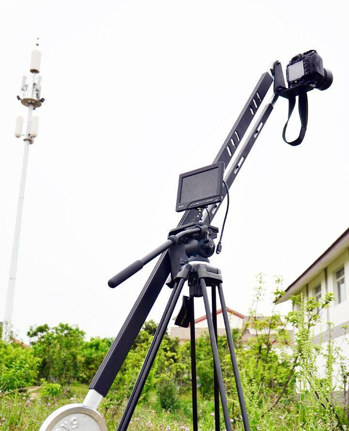 최대 부하에 20KG 지브 크레인 휴대용 프로 DSLR 비디오 카메라 크레인 2.7M 지브 암 표준 버전 백 8 피트을 Freeshipping