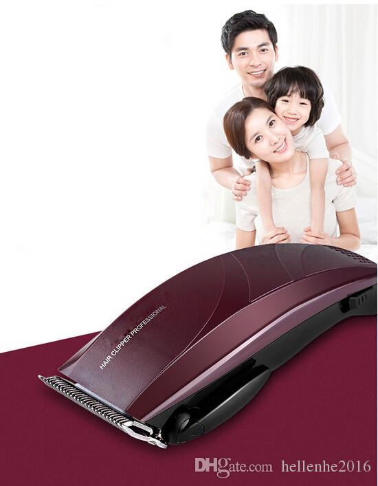 عائلة باستخدام ماكينة قص الشعر 10 أمشاط الحلاقة 3 مم -25 مم طقم آلة قص الشعر المتقلب
