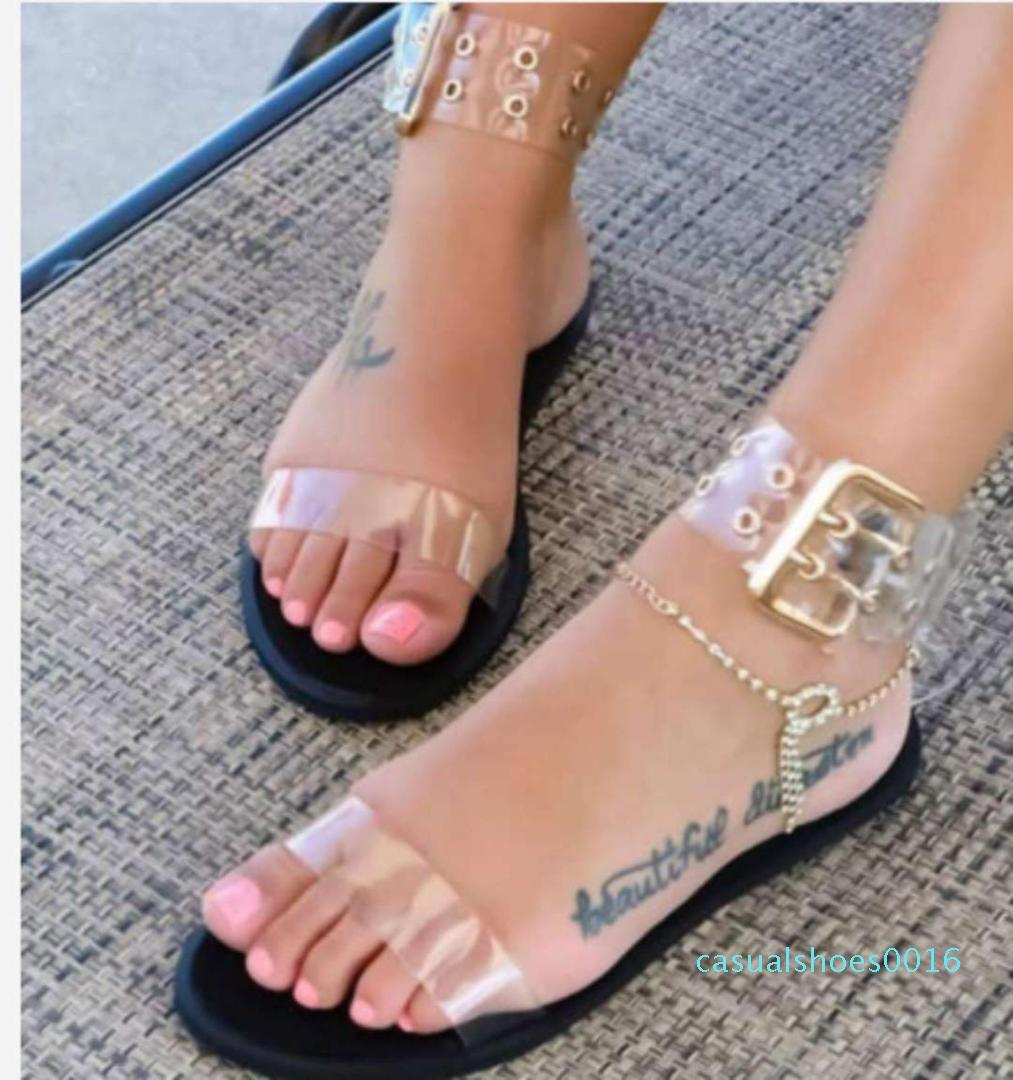 open toe jelly shoes