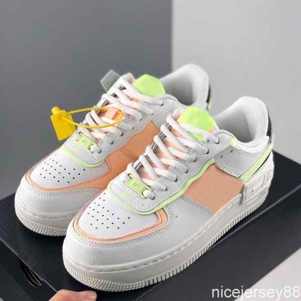 2020 WMNS 07 Utilidad de caramelo Macaron muchachas de las mujeres color de rosa de los zapatos corrientes 1 Sombra Deporte ENTRENADORES uno deportivas zapatillas de deporte des Chaussures Presto