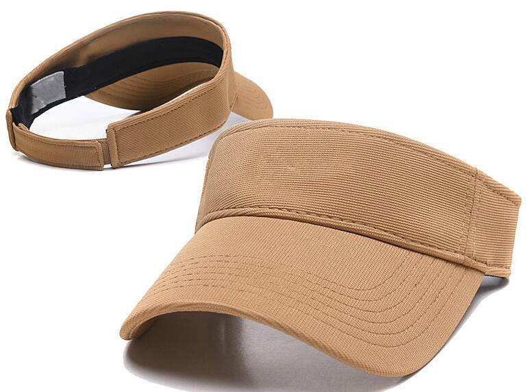 2020 new designers golf hat sun visor sunvisor party hat baseball cap sun hats sunscreen hat Tennis Beach elastic hats