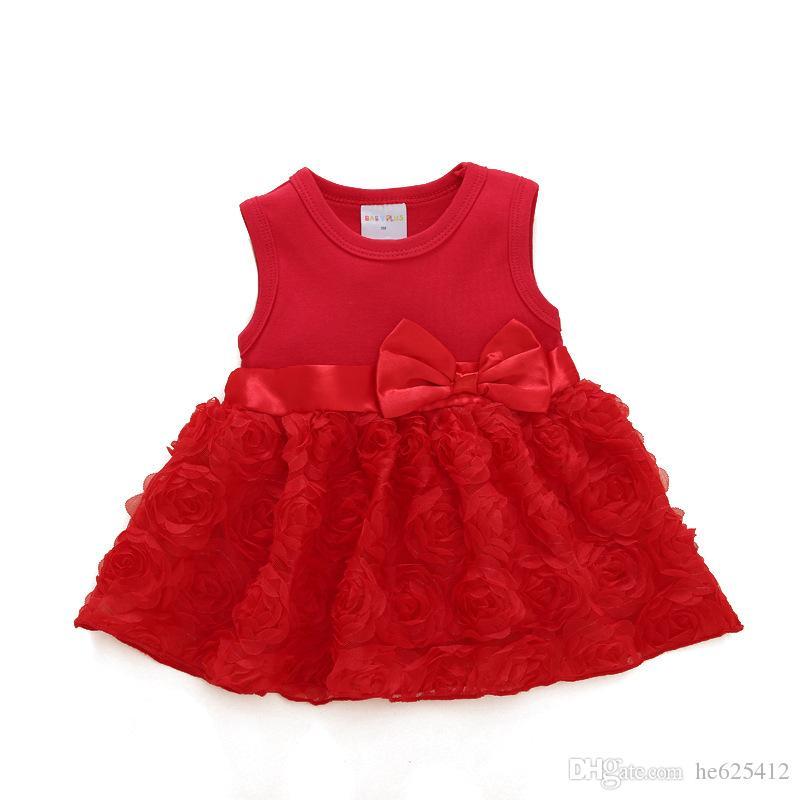 Großhandel Kinderkleidung Prinzessin Kleid Baby Rock Sommer Baby Kinder Sommerkleid Baby Kleid