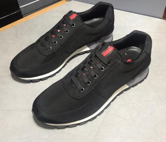 2019 del nuovo di scarpe firmate casuali di fascia alta in pelle personalizzati moda comode scarpe sportive traspirante formato 38-45 wefvfftf22 Uomo