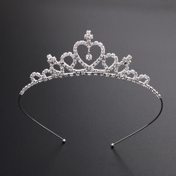Princess Crown Bows Baby Girls Diadèmes Enfants Hairpin Enfants Accessoires cheveux Enfants Bows cheveux bébé Accessoires cheveux