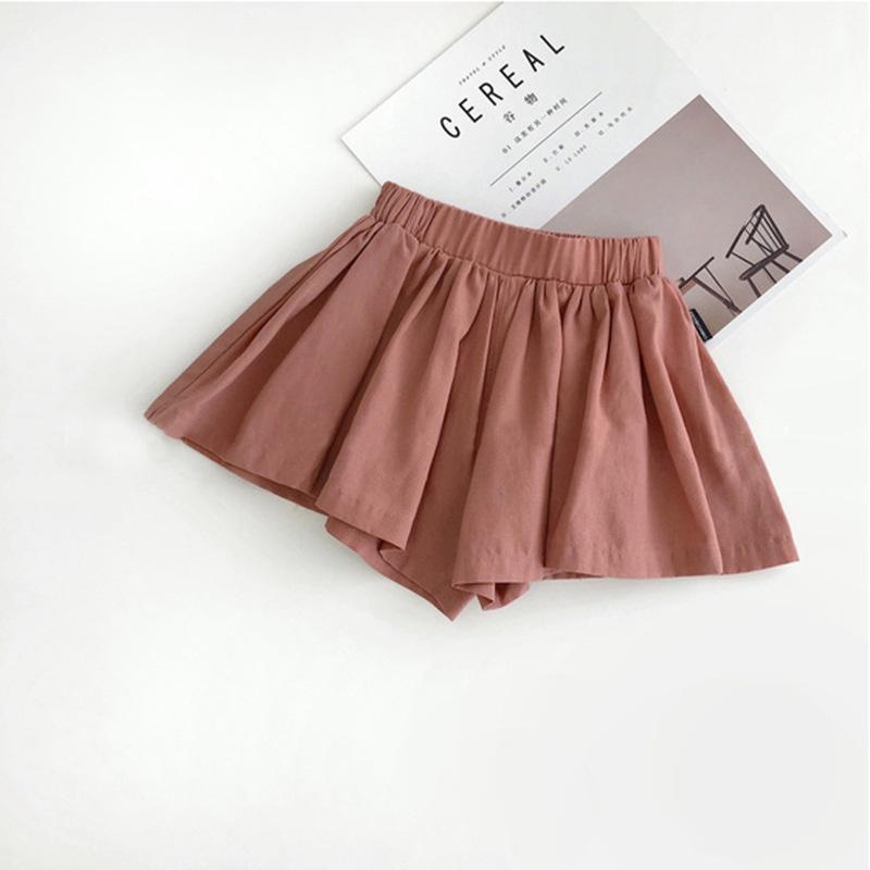 Babyinstar Ruffle Calças Shorts para meninas Dança Shorts PU Leather Crianças Shorts boutique de roupas para crianças Crianças roupa menina Outfit