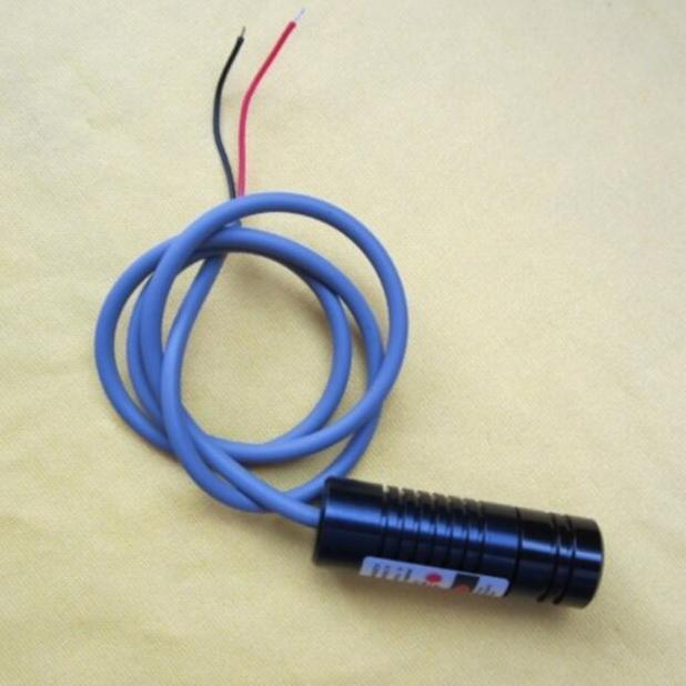 12V 100mW línea de palabra láser láser rojo módulo / vehículo / diseño de ancho de tensión / adecuado para 6V-30V
