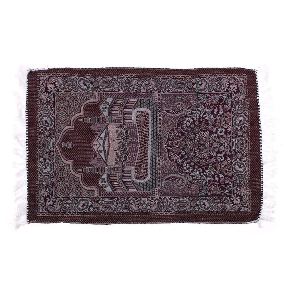 Muslim Prayer Rugs Velvet Thick Classic Islam Mat Multi Color Salat Islamic
