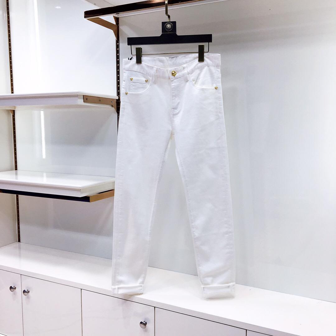 Nuevos pantalones de la marca de moda de ocio en primavera y verano 2020 Tamaño M-XXXL: un tejido de secado rápido populares delgada 6646