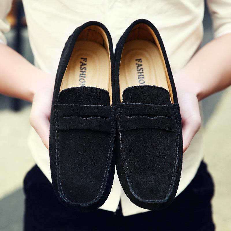 Plus Size 38-49 Verão estilo suave Mocassins Homens Loafers alta qualidade do couro genuíno Shoes Men Flats Gommino condução Shoes