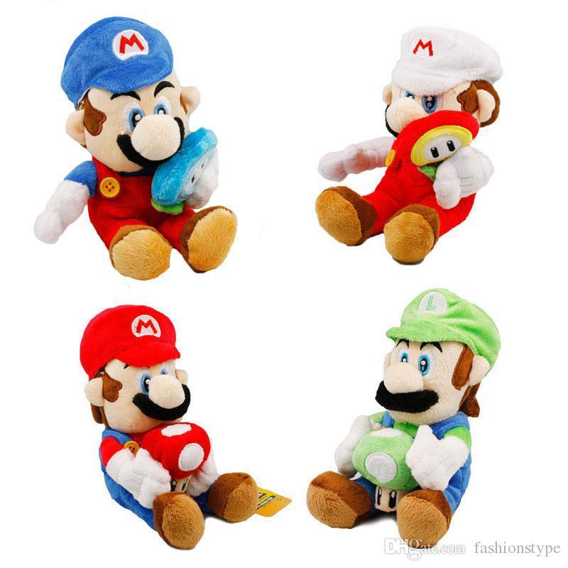 2019 New Arrival 4 Styles Mario Mushroom Plush Toys Luigi Mushrooms 18cm Super Mario Bros Plush Children Super Mario Bros Game Toys Dhl Stuffy Toy Big Stuffed Toys From Fashionstype 0 72 Dhgate Com