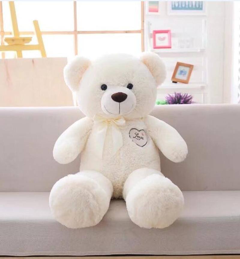 Hohe Qualität 1 PC 90cm 2020 neue Art-heißen Verkauf klassischer gefüllte Teddybär-Plüsch-Spielzeug-beste Geschenke für Freundinnen und Kinder