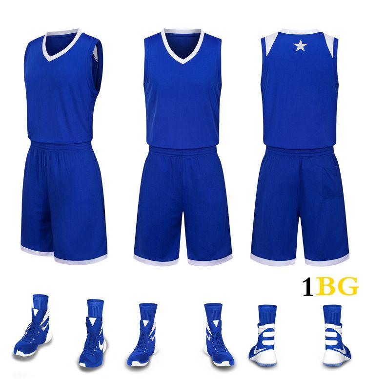 2019 Mens New Blank Ausgabe Basketball Jerseys Namet individuelle Nummer Beste Qualität Größe S-XXXL Lila Weiß Schwarz Blau rgr55uG