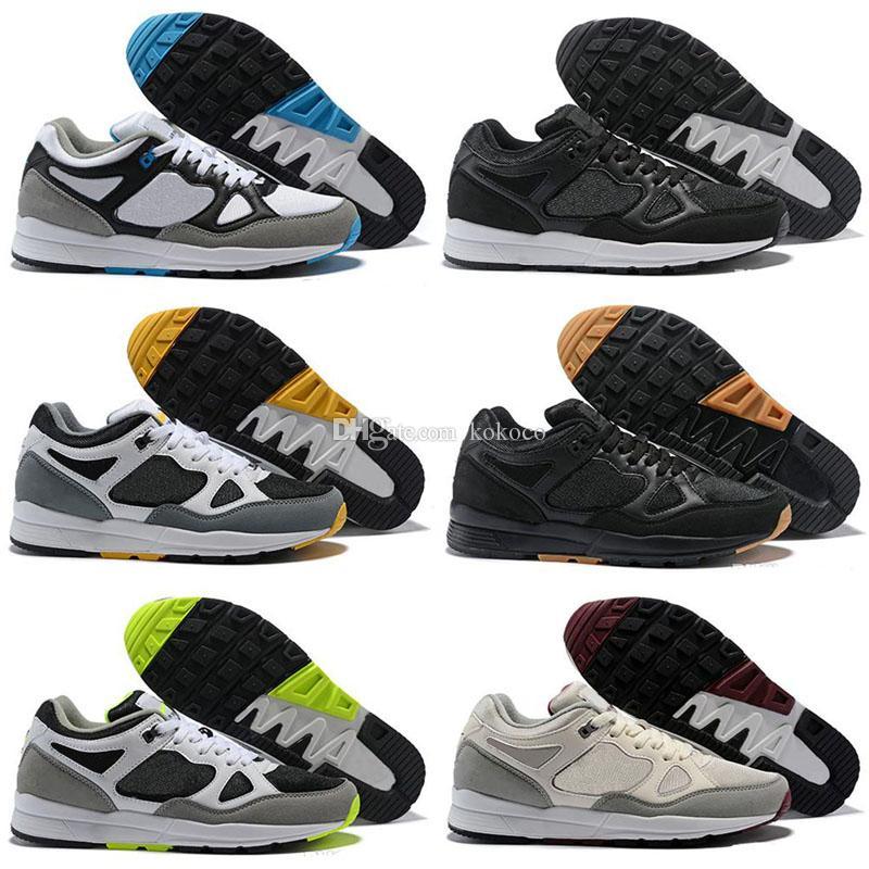 2019 Ucuz Satış Açıklıklı II 90 erkek tasarımcı Çocuk Koşu Ayakkabıları için iyi kalite Siyah Beyaz Yeşil Mavi Erkek Kadın Koşu Sneakers